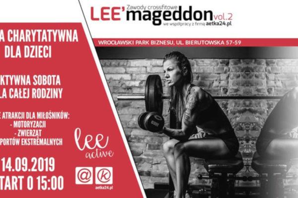 Trwają zapisy na Lee'mageddon we Wrocławiu