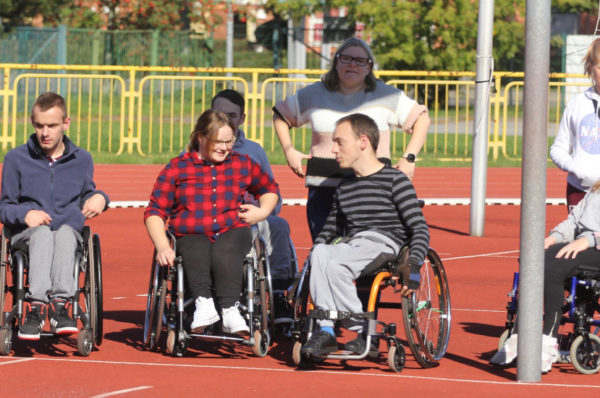 W Policach odbył się I Policki Mityng Lekkoatletyczny dla Osób Niepełnosprawnych