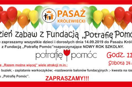 """Wrocław: Dzień Zabaw z Fundacją """"Potrafię Pomóc"""""""