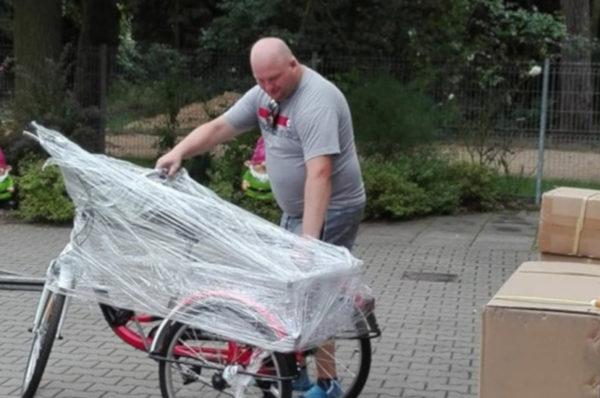 PSONI Koło w Policach otrzymało sprzęt rehabilitacyjny