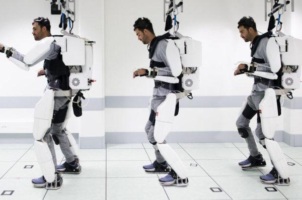 Francuzi pracują nad egzoszkieletem dla sparaliżowanego mężczyzny
