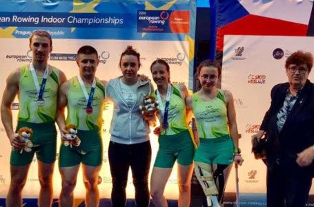 7 medali parawioślarzy na mistrzostwach Europy na ergometrach