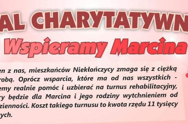 """Niekłończyca: w sobotę Bal Charytatywny """"Wspieramy Marcina"""""""