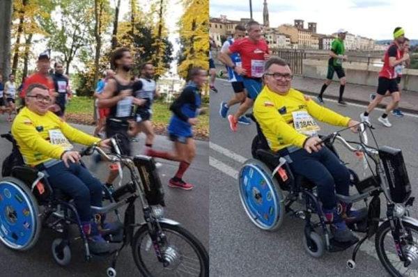 Zbigniew Stefaniak zbiera na sportowy wózek inwalidzki
