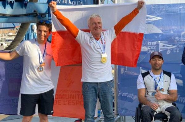 Dwa złote medale na ME w żeglarstwie