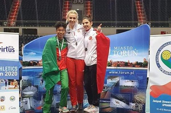 Karolina Kucharczyk z trzema medalami na halowych MŚ