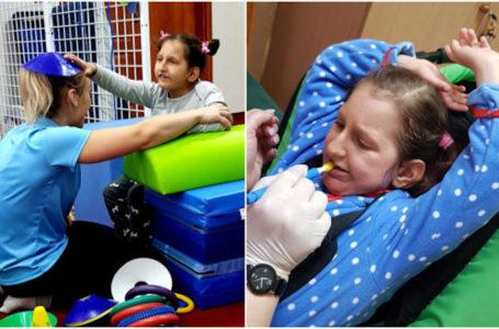 Laura Kerlin zbiera na terapię logopedyczną i turnusy rehabilitacyjne