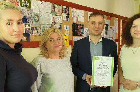 Fundacja Pełna Ciepła wsparła Zachodniopomorskie Hospicjum dla Dzieci i Dorosłych