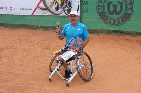 Tadeusz Kruszelnicki wygrał turniej tenisowy Warta Poznań Open