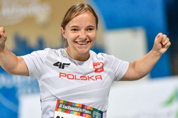 Renata Śliwińska z rekordem świata na mityngu w Słubicach
