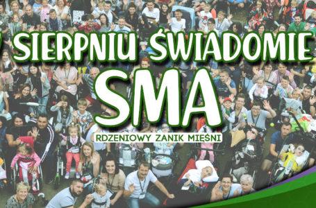 Sierpień miesiącem szerzenia świadomości o rdzeniowym zaniku mięśni (SMA)