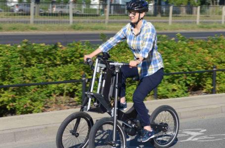 PFRON sfinansował projekt roweru dla niepełnosprawnych