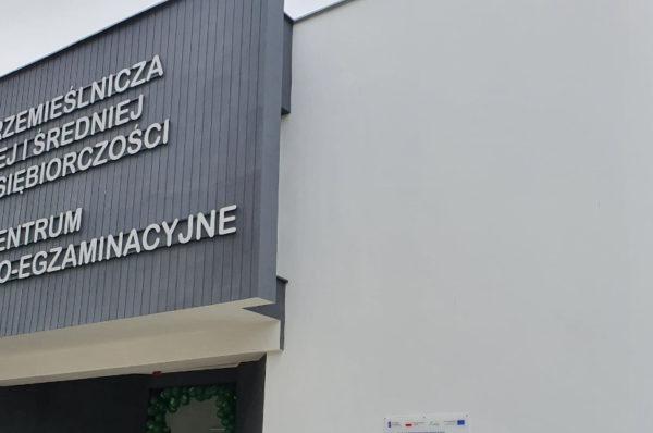 Szczecin: powstało przystosowane dla niepełnosprawnych Centrum Szkoleniowo-Egzaminacyjne