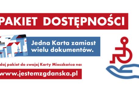 Baner informacyjny Pakietu Dostępności