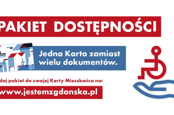 Gdańsk połączył Kartę Mieszkańca z Pakietem Dostępności