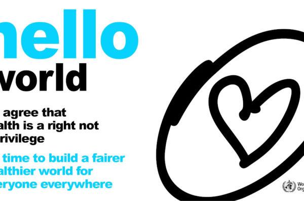 """""""Budowanie sprawiedliwszego i zdrowszego świata dla wszystkich"""" hasłem Światowego Dnia Zdrowia"""