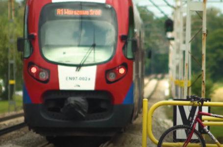 W Warszawie pociąg odjechał z rozłożoną platformą dla wózków