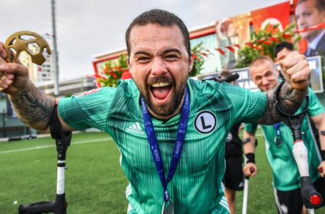 Sekcja Amp Futbolu Legii Warszawa ze srebrem Ligi Mistrzów!
