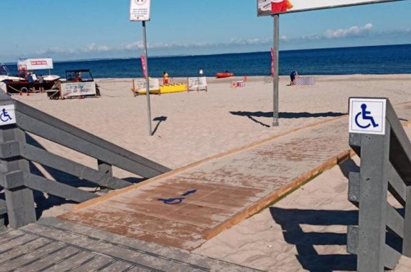 Międzyzdroje: wózkowicze mają łatwiejszy dostęp do morza