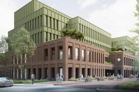 Wizualizacja rozbudowy szpitala w Poznaniu-Wildzie