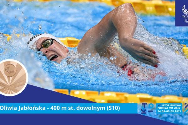 Jest pierwszy medal polskich pływaków. Oliwia Jabłońska z brązem