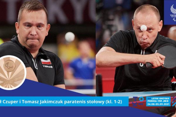 Brązowy drużynowy medal polskich tenisistów stołowych