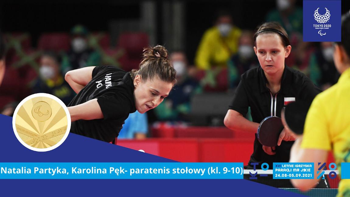 Natalia Partyka i Karolina Pęk podczas meczu