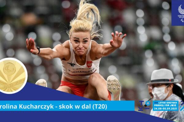 Karolina Kucharczyk ze złotem w skoku w dal!